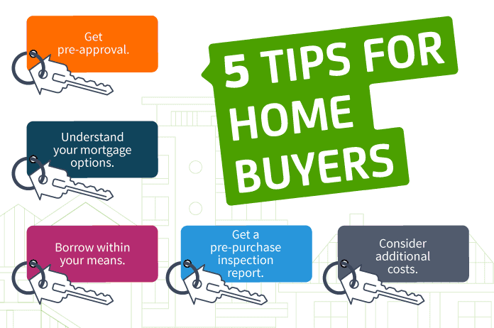 tips for home buyers infograph
